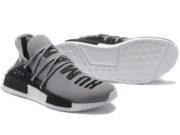 Кроссовки Adidas NMD Human Race мужские серые с черным - фото справа