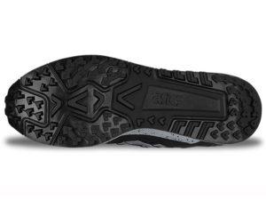 Кроссовки Asics Gel Lyte 3 мужские черные с белым - фото подошвы