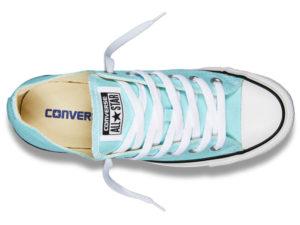 Кеды Converse Chuck Taylor All Star бирюзовые женские и подростковые - фото сверху
