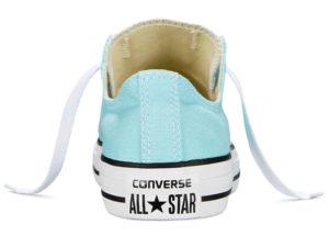 Кеды Converse Chuck Taylor All Star бирюзовые женские и подростковые - фото сзади