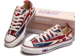 Кеды Converse Chuck Taylor All Star с британским флагом - общее фото