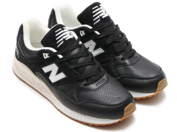 Кроссовки New Balance 530 мужские черные с белым