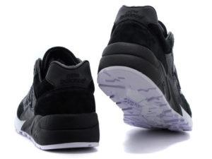 Кроссовки New Balance 580 черные - фото сзади