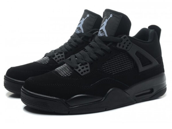 Кроссовки Nike Air Jordan 4 Retro черные
