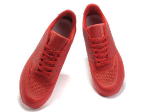 Кроссовки Nike Air Max 90 Hyperfuse мужские красные - фото спереди