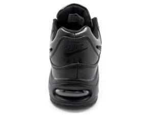 Кроссовки Nike Air Max 90 Skyline черные - фото сзади
