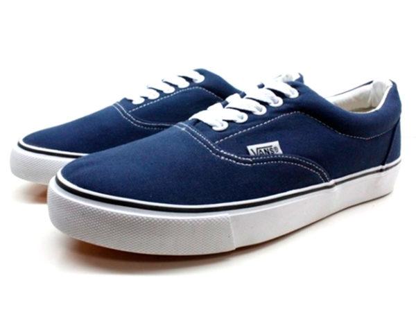 Синие кеды Vans