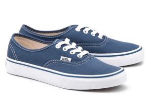 Кеды Vans Authentic темно-синие - фото справа