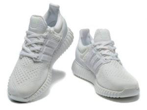 Кроссовки Adidas Ultra Boost мужские белые - общее фото