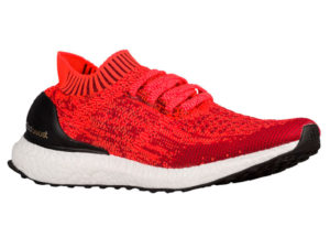 Кроссовки Adidas Ultra Boost мужские красные с черным - фото справа