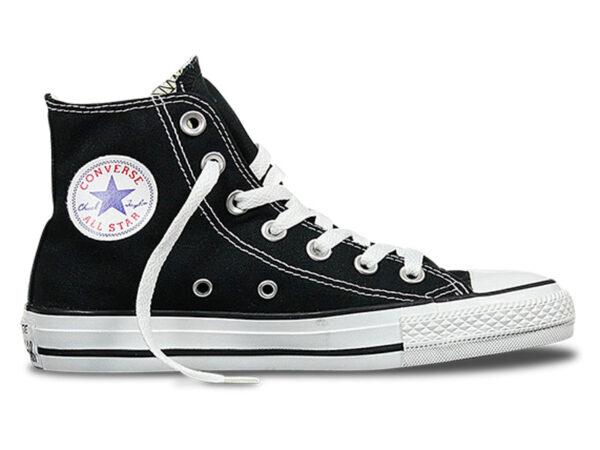Высокие кеды Converse Chuck Taylor All Star черные с белым