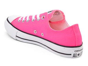 Кеды Converse Chuck Taylor All Star розовые женские - фото сзади