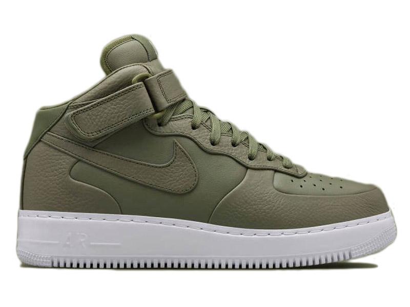 c09304fe Кроссовки Nike Air Force 1 Mid болотные - купить в интернет-магазине ...