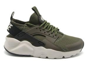 Кроссовки Nike Air Huarache Ultra темно-зеленые мужские - фото справа