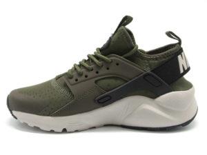 Кроссовки Nike Air Huarache Ultra темно-зеленые мужские - фото слева