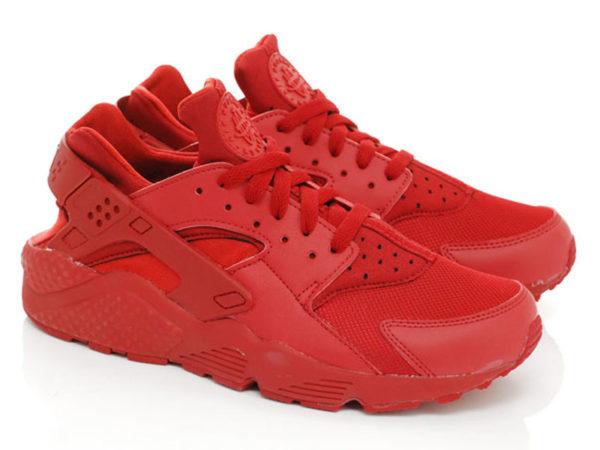 Кроссовки Nike Air Huarache Varsity красные мужские
