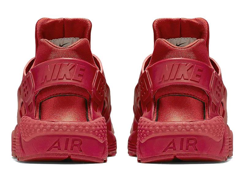 4eb5de52 ... Кроссовки Nike Air Huarache Varsity красные мужские - фото сзади ...
