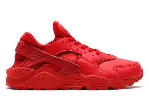 Кроссовки Nike Air Huarache Varsity красные мужские - фото справа