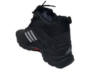 Зимние Adidas Climaproof Mid черные - фото сзади