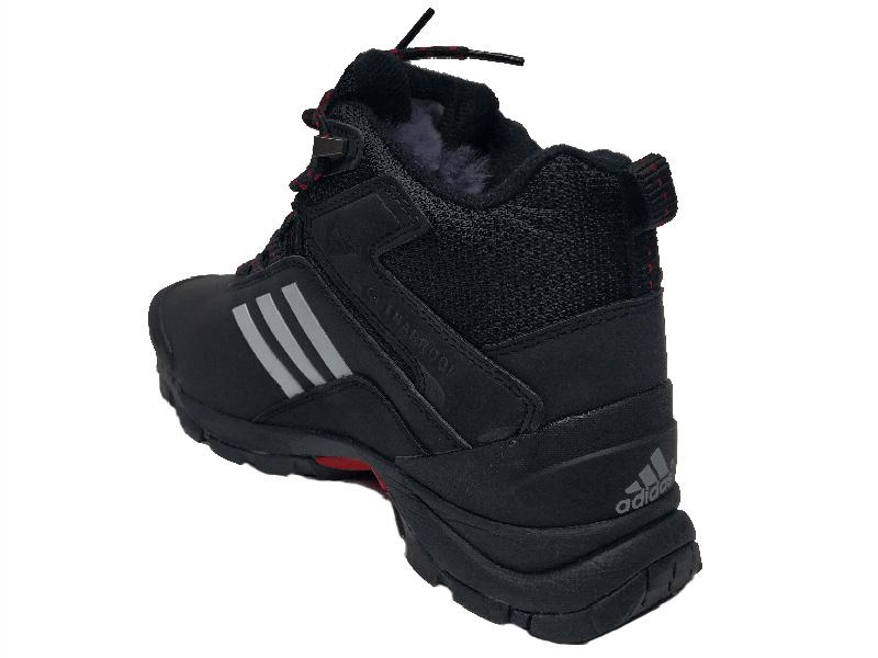 efa7d03e Купить Adidas Climaproof Mid черные с белым, зимние с мехом - мужские