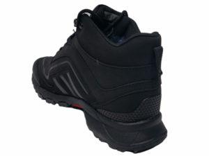 Зимние Adidas Terrex Seamless черные - фото сзади