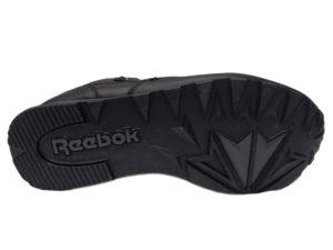 Зимние Reebok Classic Leather черные - фото подошвы