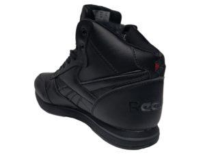 Зимние Reebok Classic Leather черные - фото сзади