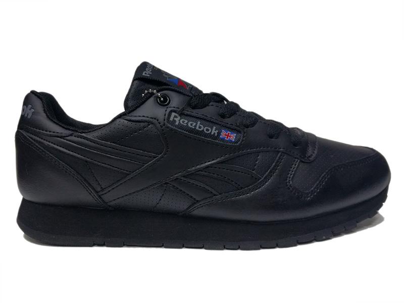 e2104869 Купить кожаные Reebok Classic (Black) зимние с мехом - черные, мужские