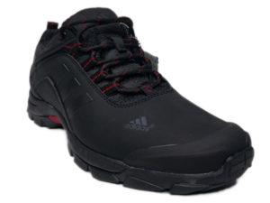 Зимние Adidas Climaproof Low черные - фото спереди