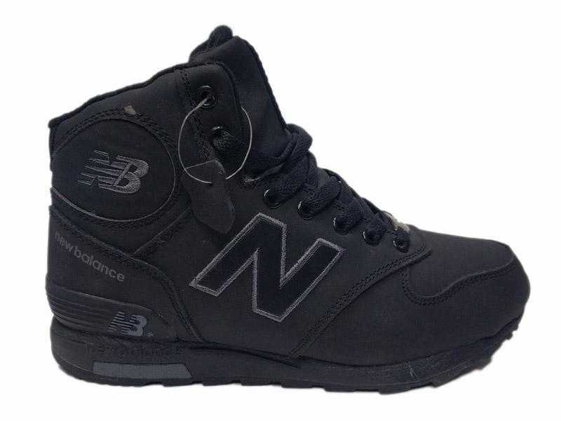 Зимние New Balance 1400 Mid черные