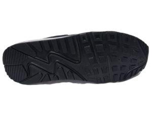 Зимние Nike Air Max 90 Suede темно-синие с белым - фото подошвы