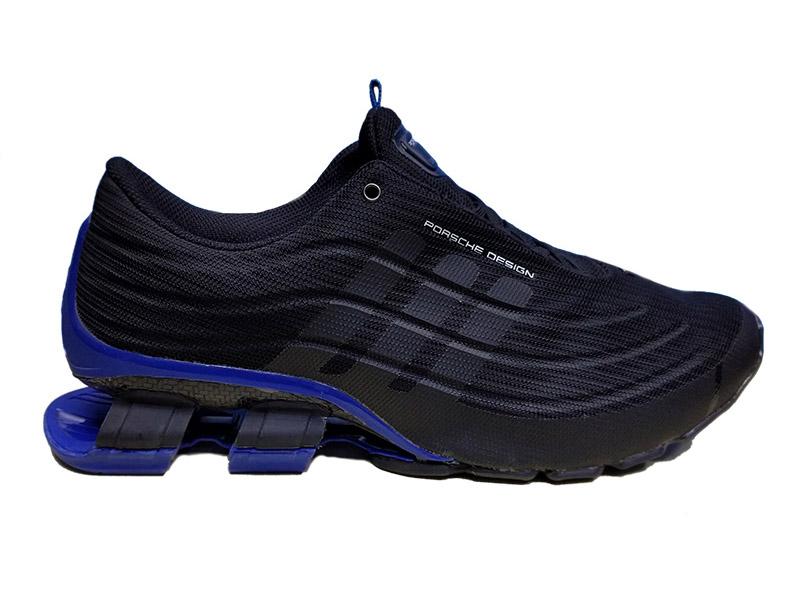 Adidas Porsche Design Sport Limited Edition 500 черные с синим сетка мужские