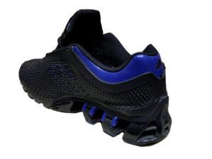 Adidas Porsche Design Sport черные с синим в сетку