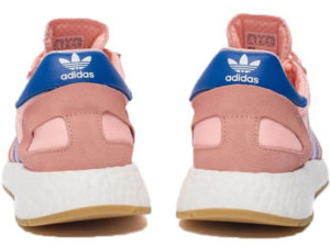Adidas Iniki Runner Boost розовые с синим