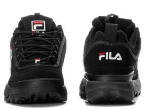 Fila Disruptor 2 черные с белым