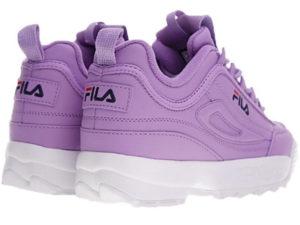 Fila Disruptor 2 фиолетовые с белым