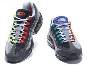 Nike Air Max 95 серые с черным