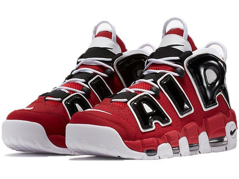 100% najwyższej jakości kup tanio najnowsza kolekcja Nike Air More Uptempo 96 Bulls красные с черным (40-46)