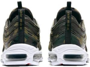 Nike Air Max 97 France зеленый камуфляж
