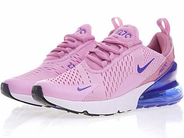 Nike Air Max 270 розовые с синим (35-40)