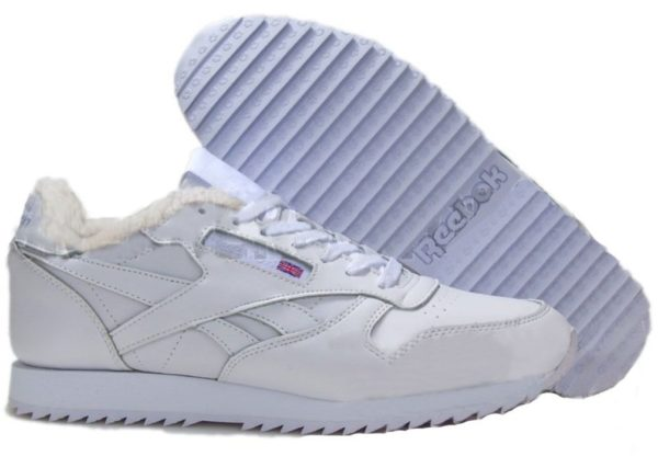 Reebok Classic Leather White белые (35-45)