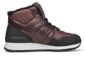 Зимние New Balance 755 коричневые с мехом (40-44)