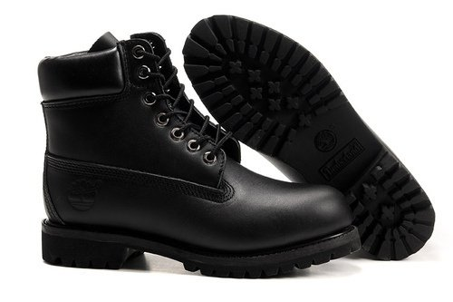 Ботинки Timberland Timberland 6 Inch Boots без меха LATHER Black кожа 40-46