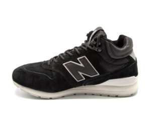 Кроссовки New Balance 696 замшевые черные (40-45)