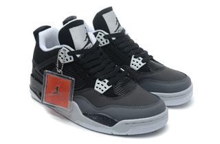 Nike Air Jordan 4 тёмно-серые (35-46)