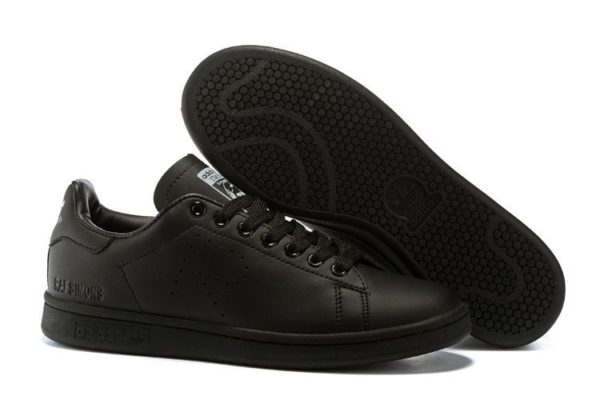 Adidas Stan Smith Black черные (35-44)