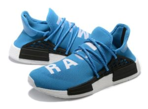 Adidas NMD Human Race синие