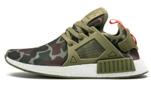 Adidas NMD R1 зеленый камуфляж
