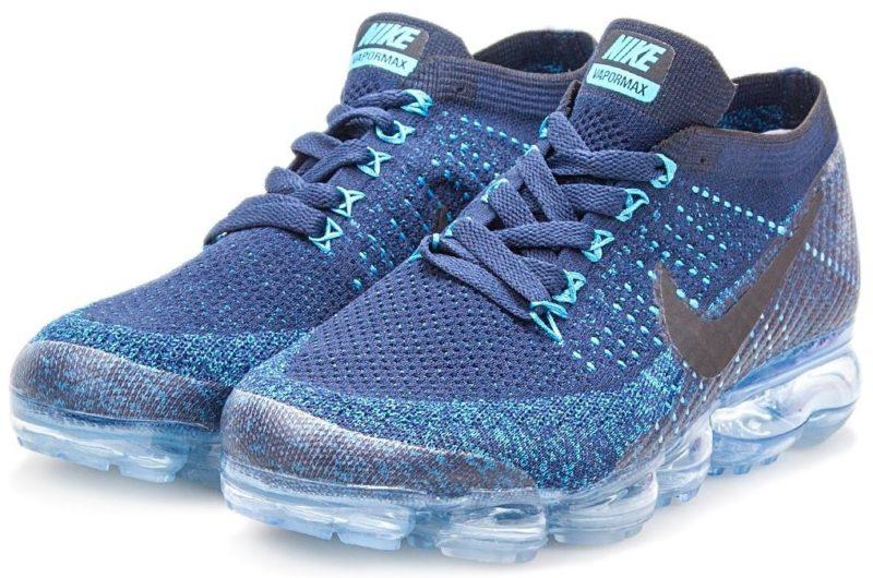 Nike Air VaporMax Flyknit Blue синие 40-44