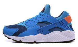Nike Air Huarache синие с оранжевым (35-39)